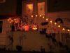 Halloween, decorated house, jackolanterns