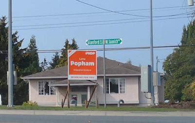 election sign, Lana Popham