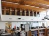 learning commons, library, Belmont Secondary, March 2020