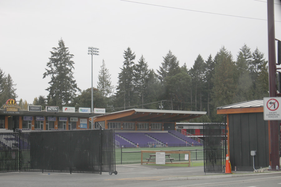 Westhills Stadium, October 2020