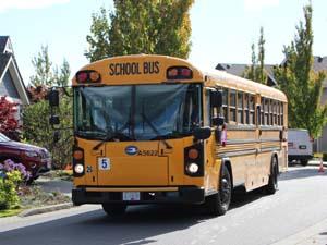 SD62, school bus, October 2020