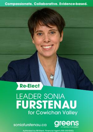 Sonia Furstenau, BC Green Leader, campaign ad