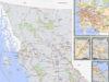 electoral areas, map