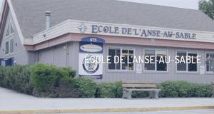 École de l'Anse-au-sable school