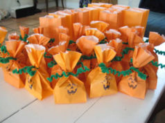 candy bags, halloween