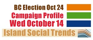 election campaign coverage, October 14, 2020