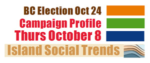 BC Election, campaign trail, October 8 2020