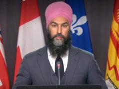 Jagmeet Singh, October 21, 2020