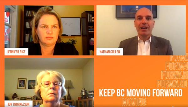 Jennifer Rice, Nathan Cullen, BC NDP