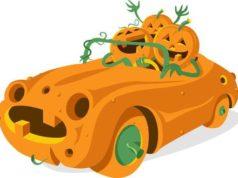 drive through, halloween