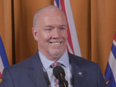 Premier John Horgan, Nov 26, 2020