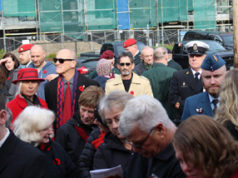 crowd, Remembrance Day, 2019, Langford