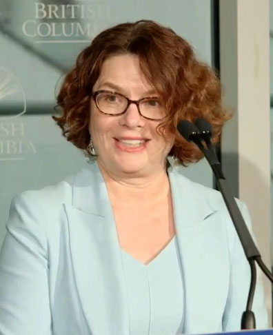 Dr. Réka Gustafson, deputy provincial health officer