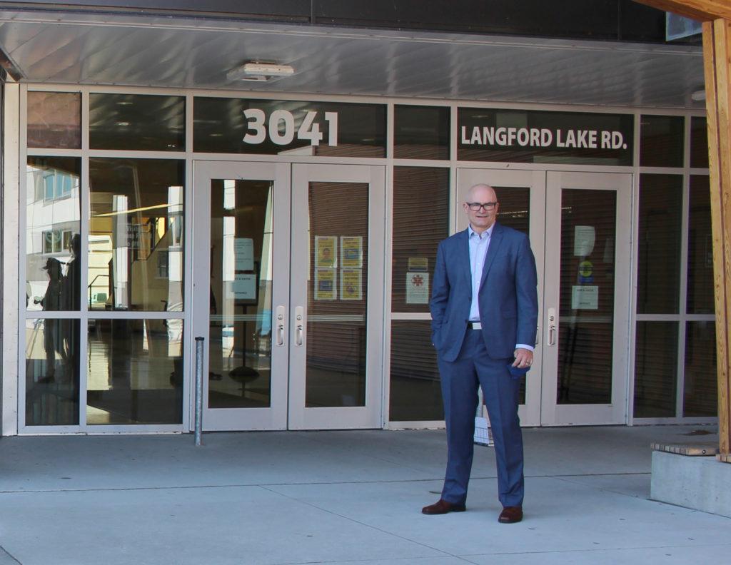 Jim Lamond, Principal, Bemont Secondary School