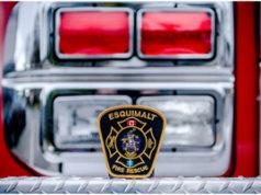 Esquimalt Fire, logo, fire engine