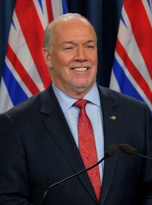 Premier John Horgan, December 15 2020