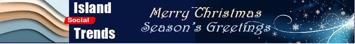 Island Social Trends, Christmas greetings, banner