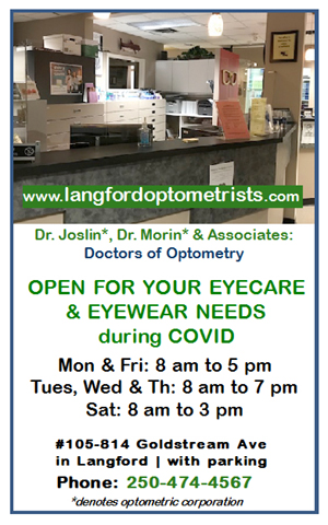 Langford Optometry - Open Mon to Sat during COVID-19