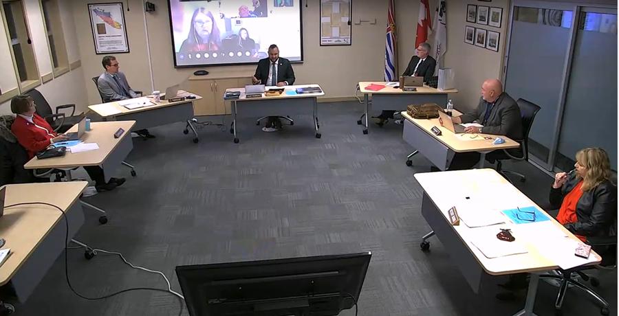 SD62 board meeting, December 15 2020