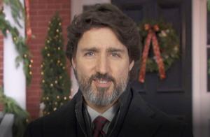 Prime Minister Justin Trudeau, Christmas 2020