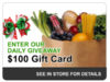 Village Foods, gift card