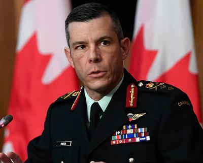 Major General Dany Fortin
