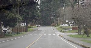 crosswalk, Wishart Road at Salton Drive, Colwood