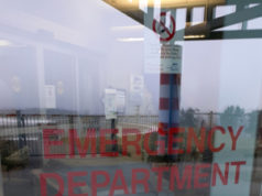Emergency Room Door, West Coast General Hospital, Port Alberni