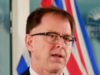Health Minister Adrian Dix, January 29 2021