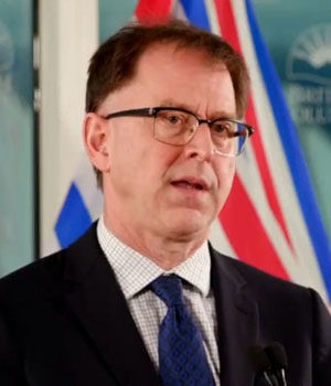 Health Minister Adrian Dix, January 29 2021