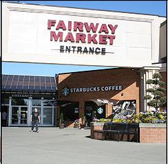 Fairway Market, mall entrance
