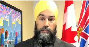 NDP leader, Jagmeet Singh, Ottawa, January 25 2021
