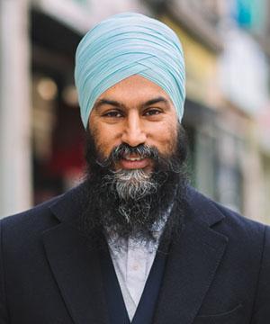 Jagmeet Singh, NDP Leader