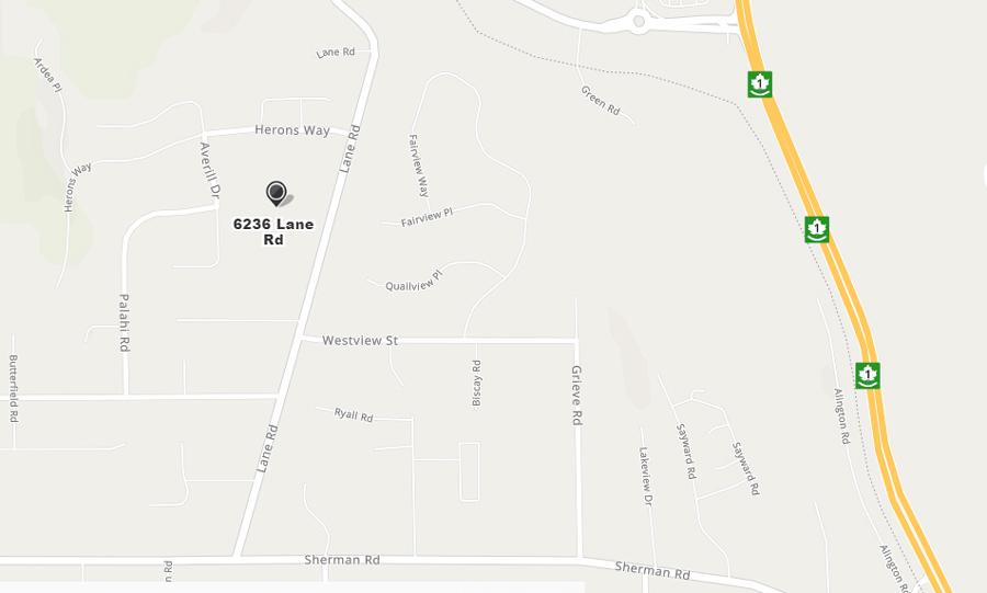 Drinkwater Elementary, map, Duncan