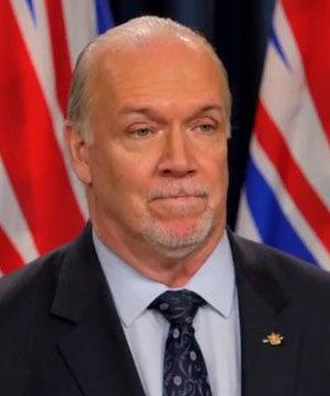 Premier John Horgan, January 27 2021