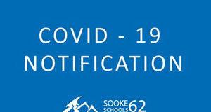 COVID notification, SD62