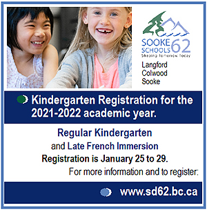 SD62 Kindergarten Registration for 2021