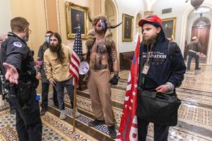 Washington DC, mob, January 7 2021