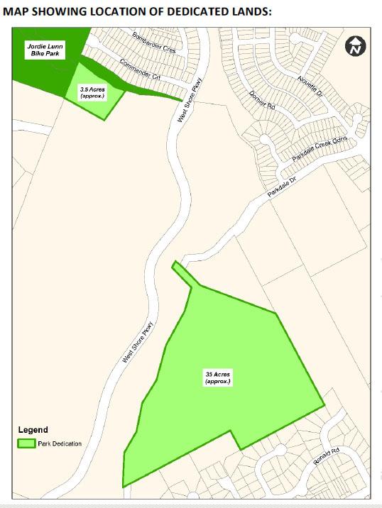 park, greenspace, Westhills, Langford