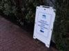 immunization clinic, signage