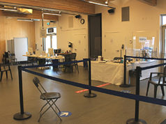 COVID clinic, immunization, Sooke