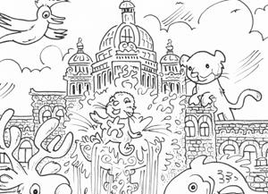 colouring contest, bc legislature