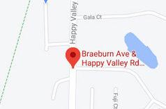 Happy Valley Rd, Braeburn Ave