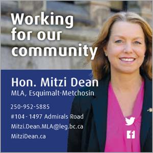 Hon Mitzi Dean, MLA (Esquimalt-Metchosin)