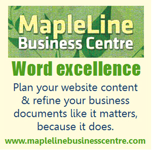 MapleLine Business Centre - wordsmithing & web content strategies