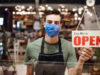 restaurant worker, mask