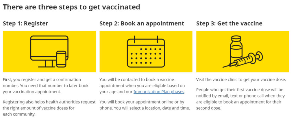 vaccine appointment