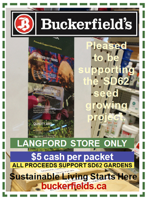 Buckerfield's Langford – get SD62 school-grown seeds | Open Daily 8 am to 6 pm