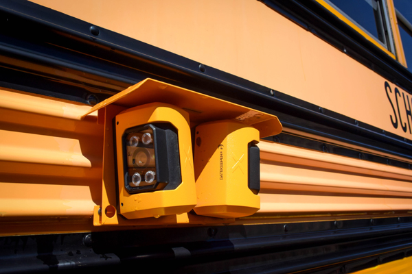 SD79, school bus, camera