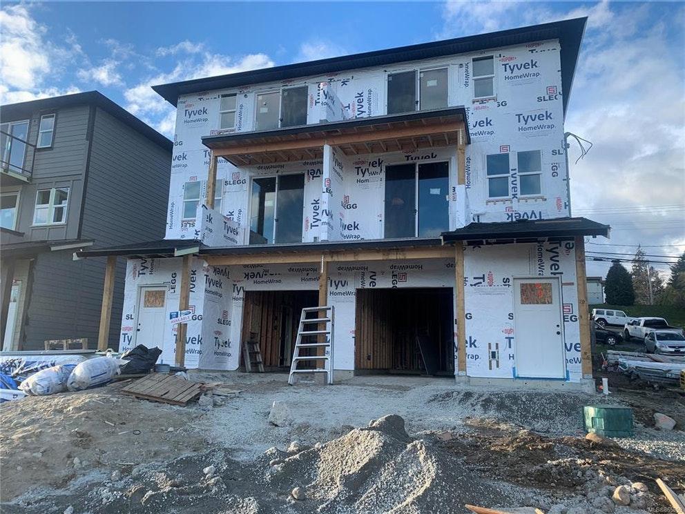 house construction, Sooke